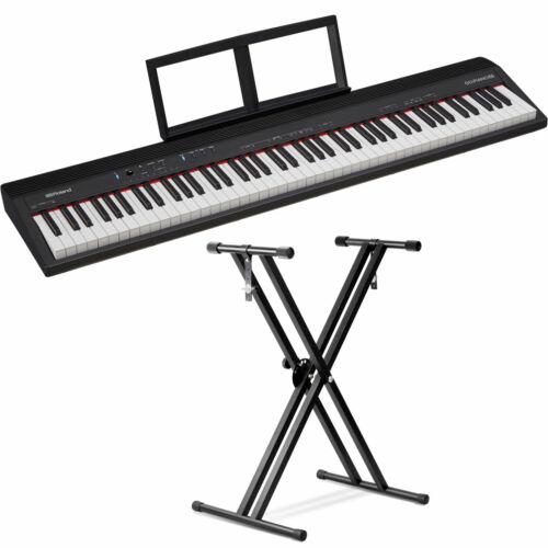 Roland GO:PIANO 88-Key Digital Piano with Front Row Keyboard