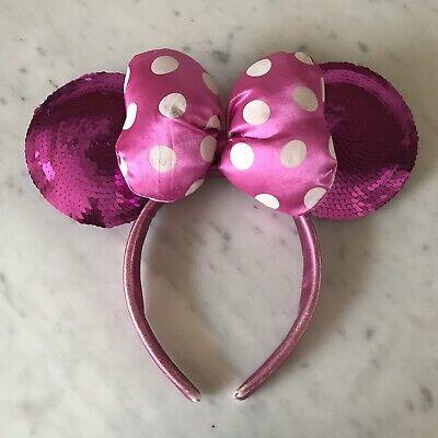 Disneyland Paris Pink Minnie Mouse Ears