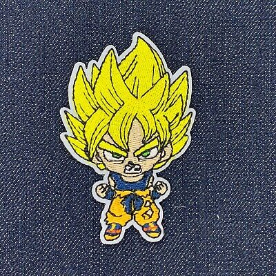 "DRAGON BALL Z GOHAN KID IRON ON EMBROIDERED PATCH 3.75/"" X 3.25/""  FREE SHIPPING"