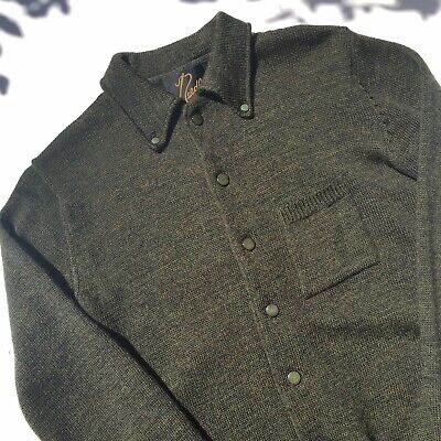 Needles Button Up Cardigan S Nepenthes Kapital