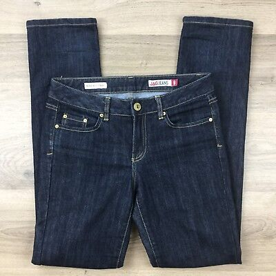 Jag Jeans Women's Jeans Mid Rise Reg Fit Straight Size 9 L32.5 (AW14)