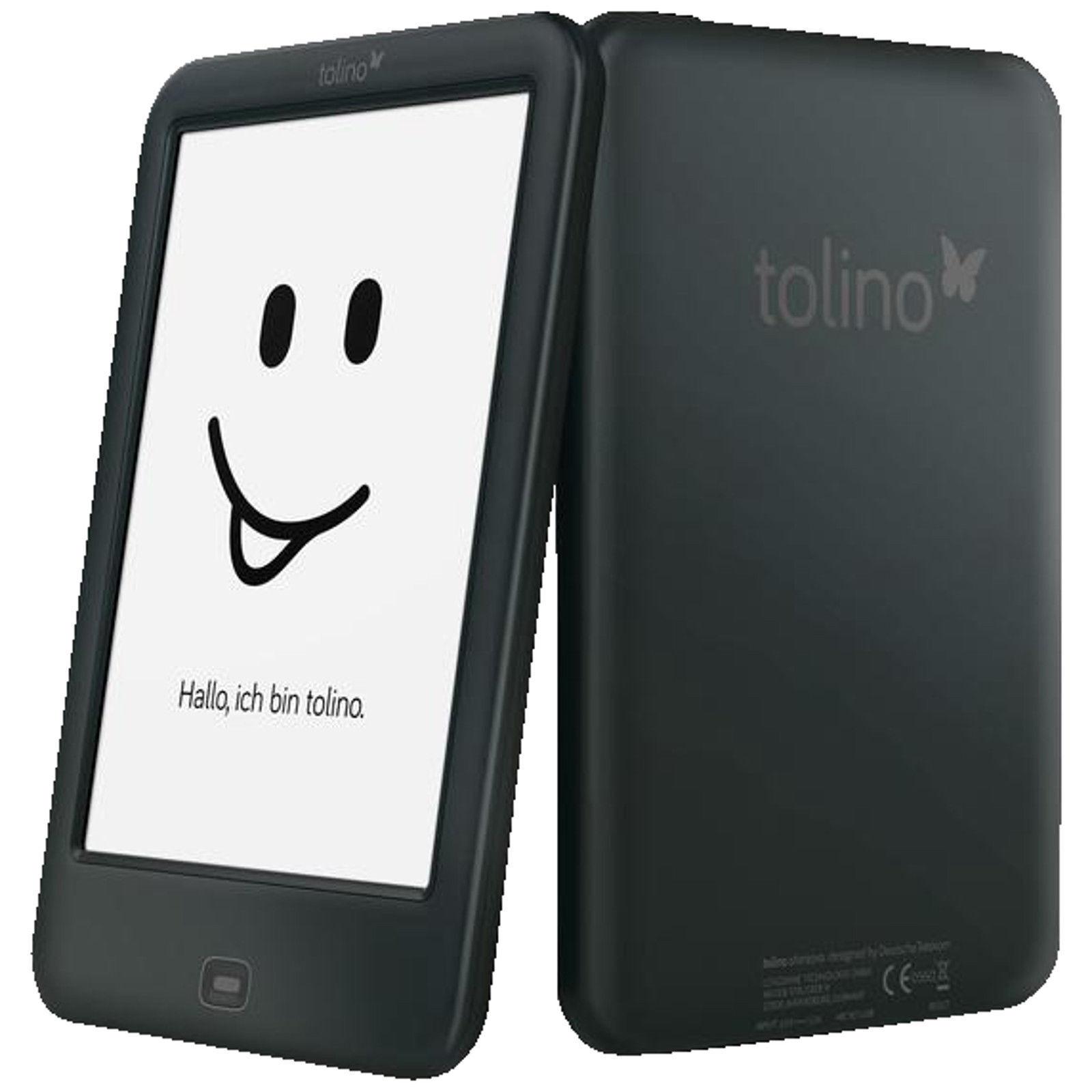 TOLINO Shine 2 HD 6 Zoll 4 GB WLAN eBook Reader Schwarz  *NEU&OVP*
