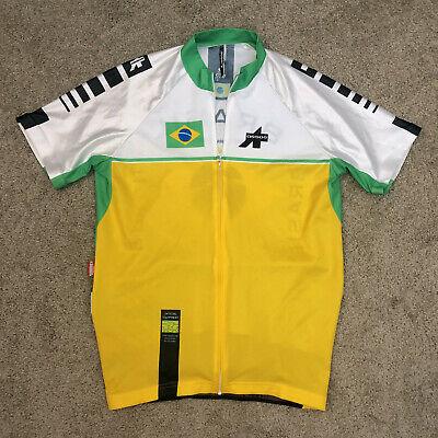 Made In Switzerland Assos Sleeveless Cycle Jersey Full Zip XLG XXL