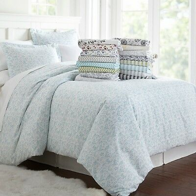 Duvet Collection (Home Collection 3 Piece Pattern Duvet Cover Set Seasonal Patterns - Wrinkle Free )
