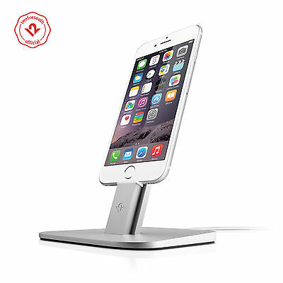 Twelve South HiRise Charging Stand for iPhone/ iPad Mini, Silver