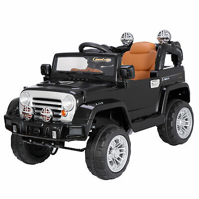 12V 2WD Kids Electric Ride On SUV Jeep Truck Manual/ Parental Remote Control