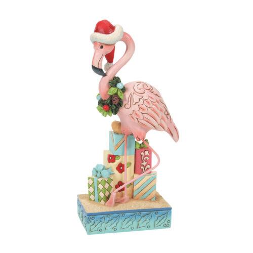 Jim Shore Flamingo Beach New 2021 6008934 Christmas