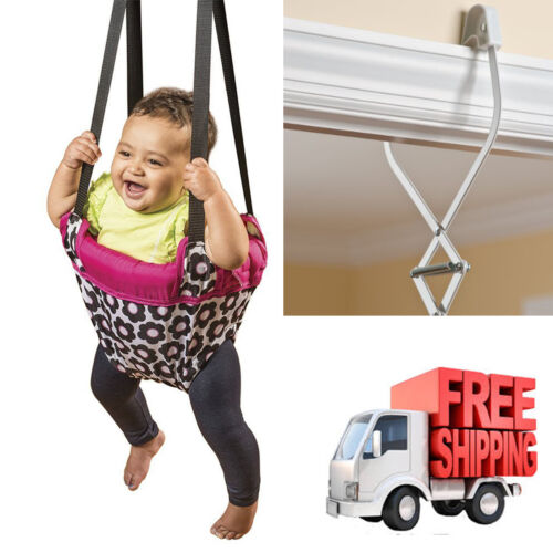 Baby Jumper Doorway Evenflo ExerSaucer Jumperoo Bumbly Exerciser Jump Bouncer