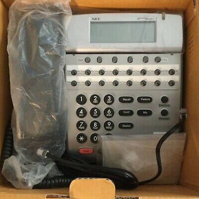 New Nec Dterm Series I Dtr-16d-2 Black Business Telephone