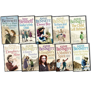 Anne Bennett 10 Books Collection Set Mothers Only Child A Sisters Promise New