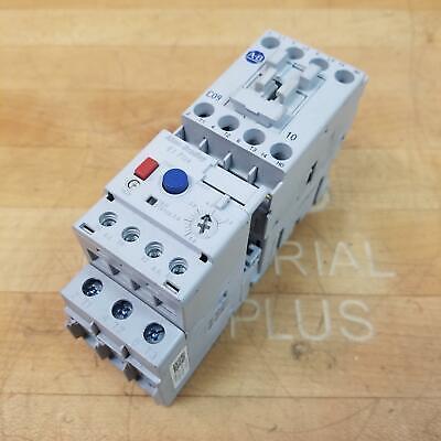 Allen Bradley 100-C09D10 110-120V, Contactor w/ 193-EECB 1.0-5.0Amp Relay - USED