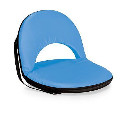Picnic Time Portable Recreation Reclining Oniva Seat, Light Blue