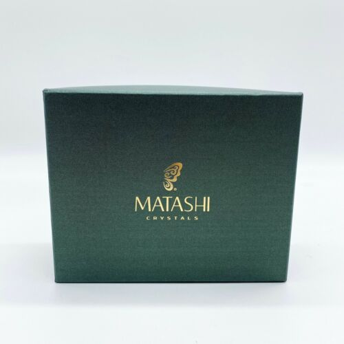 Matashi executive desk set with pen horse ornament NEW gold plated