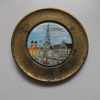 Wall Plate Brass Munich