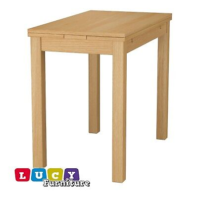 IKEA BJURSTA extendable table Oak VeneerNEW