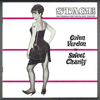 "Gwen Verdon ""SWEET CHARITY"" Ruth Buzzi / Cy Coleman / Bob Fosse 1967 Program"
