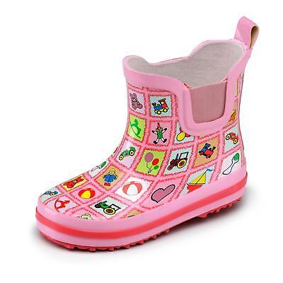 Beck Kinder Mädchen Stiefel Gummistiefel Gummistiefelette Stiefelette Schuh - Kinder Schuh Stiefel