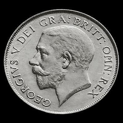 1925 George V Silver Shilling – Rare – AEF / EF