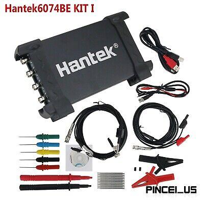 Hantek6074be I Hantek 4 Ch Oscilloscope Automotive Usb Oscilloscope 70mhz 1gsas