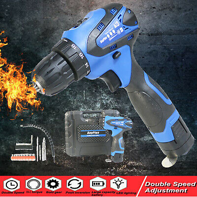 Cordless Electric Screwdriver Drill  Impact Driver  Waterproof  Power tool