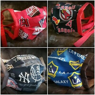 Handmade SPORTS Face Masks/Covers