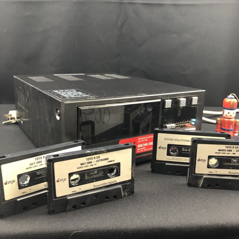 Vintage Toys R Us Store Music Player And Cassettes