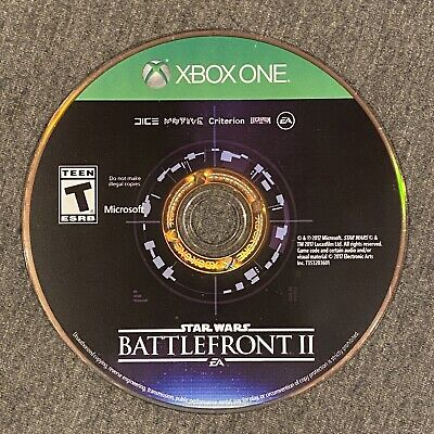 Star Wars BattleFront II 2 Microsoft Xbox One Game Disc Only