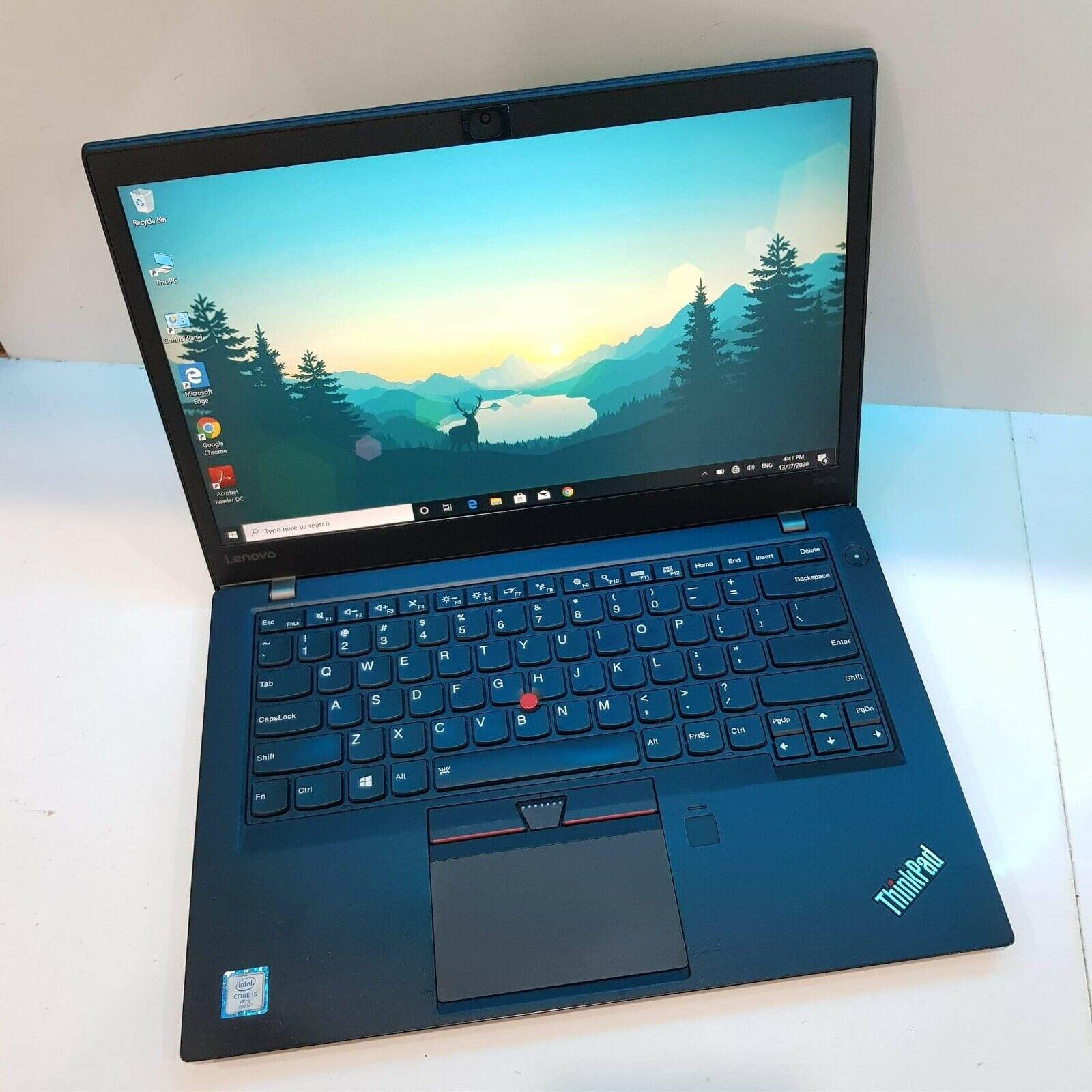 "Laptop Windows - Lenovo ThinkPad T460s 14"" Core i5-6300U 8GB RAM 256GB SSD 2.50GHz windows 10Pro"