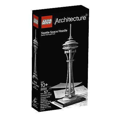 LEGO Architecture Seattle Space Needle (21003) - Retired, New Sealed