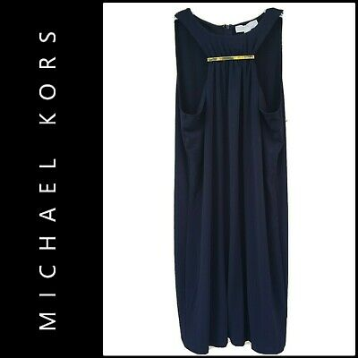 Michael Kors Women's Career Formal Stretch Sleeveless Dress Size Large Nwt