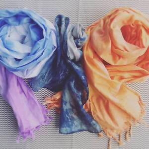 Fabric Dye Workshop - Scarves Marrickville Marrickville Area Preview
