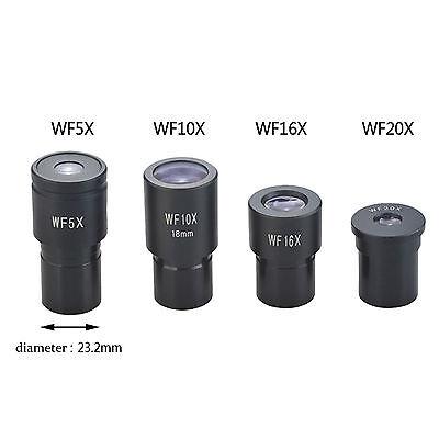 Wf5x Wf10x Wf16x Wf20x Biological Microscope Eyepiece Wide Angle Optical Lens