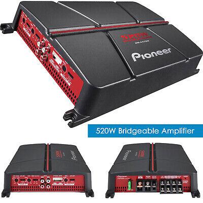 NEW Pioneer GM-A4704 520 Watt 4-Channel Class AB Car Audio Full Range Amplifier