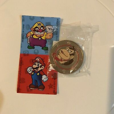 Nintendo Super Mario Wonder Ball Chocolate Candy Donkey Kong Coin
