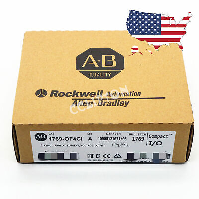 Factory Sealed Allen-bradley 1769-of4ci Compact Io Analog Output Module Plc