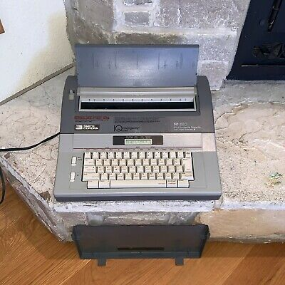 Smith Corona Sd 680 Spell-right Iq Dictionary Word Processor Vintage Typewriter