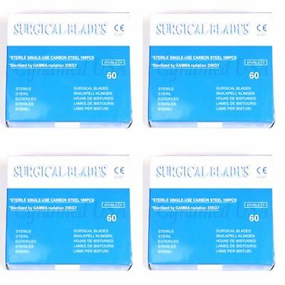 100 Scalpel Blades 60 Surgical Dental Ent Instruments