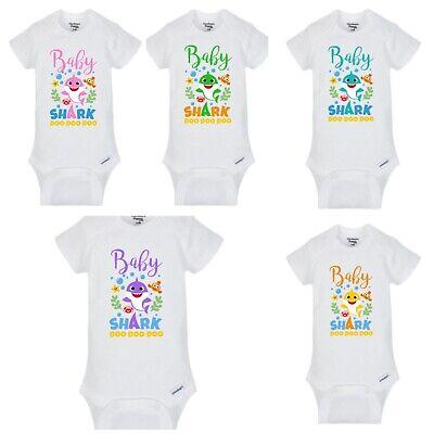 BABY shark Girls or Boys Infant/Toddler Shirt/baby onesie