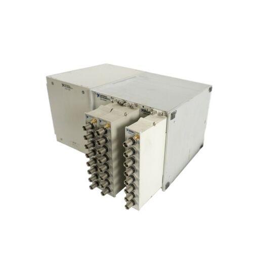 National Instruments SCXI-1000DC Chassis w/SCXI-1382, SCXI-1305, SCXI-1180