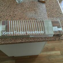 Timber Venetian Blind Brand New 60cmx137cm Burrum Heads Fraser Coast Preview