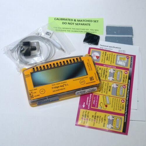 Berlinger #225-0208-035-EE Fridge Tag 2L Data Logger Thermometer Alarm Timer