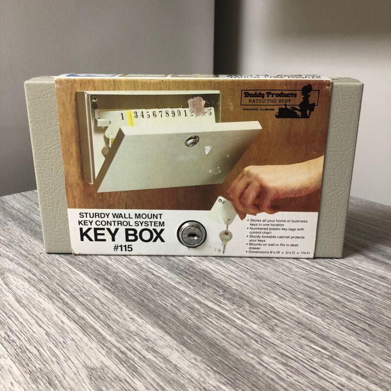 key lock box wall mount Key Control System Buddy Products