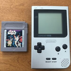 Nintendo Game Boy MGB-001 with Star Wars Game