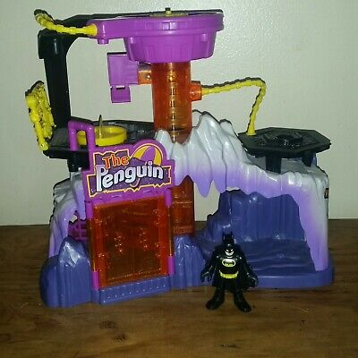 Imaginext The Penguin Lair Batman Figure Headquarters Play Set DC Superheroes