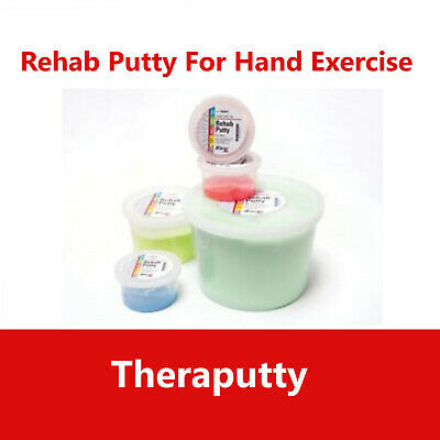Therapy Putty - Resistive Hand Exercise Theraputty CHOOSE: Size Resistance Color
