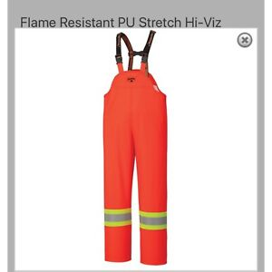 NEW!! Wind and Rainproof FR Overalls - size XXL
