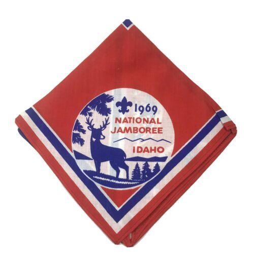 Boy Scouts Of America BSA 1969 National Jamboree Idaho Neckerchief Souvenir
