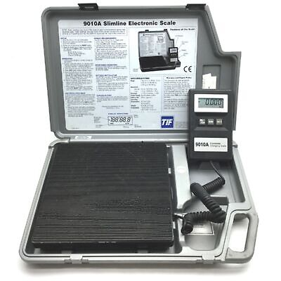 Tif 9010a Slimline Electronic Refrigerant Charging Scale Capacity 0-199.99lbs