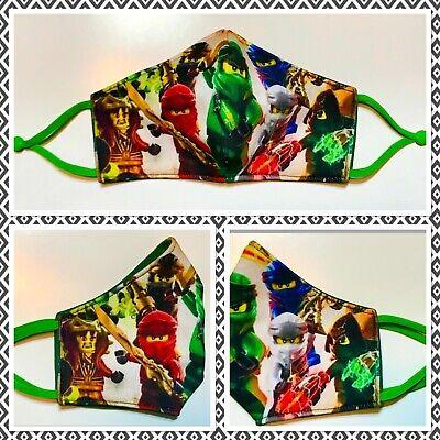 Mundschutzmasken Ninjago für Kinder/Stoffmaske / Behelfsmasken