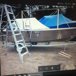 Shrink wrap boat your place